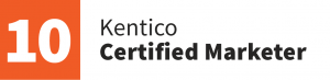 AUSPresence Kentico Certified Marketer badge